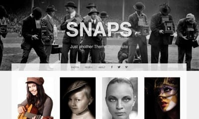 Snaps - temi wordpress fotografia gratis