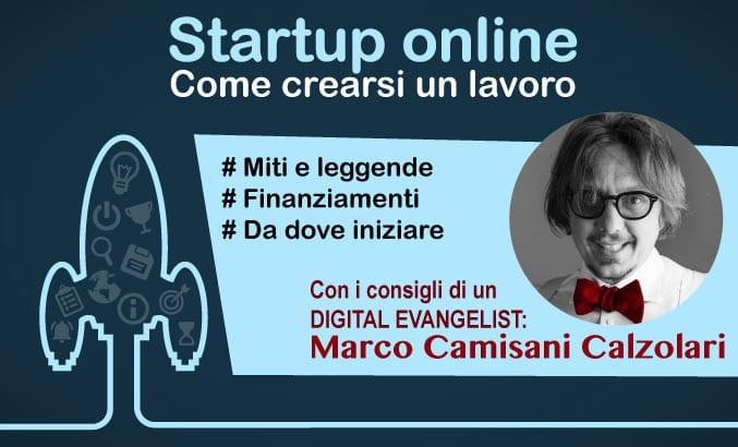 crearsi un lavoro - creare una startup