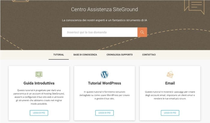 tutorial wordpress siteground