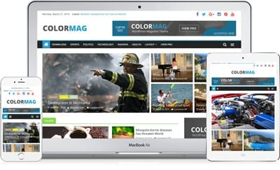 Colormag - Free WordPress-Magazine Theme